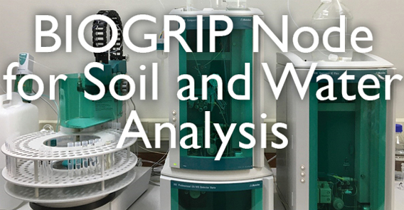 biogrip node for soil and water analysis