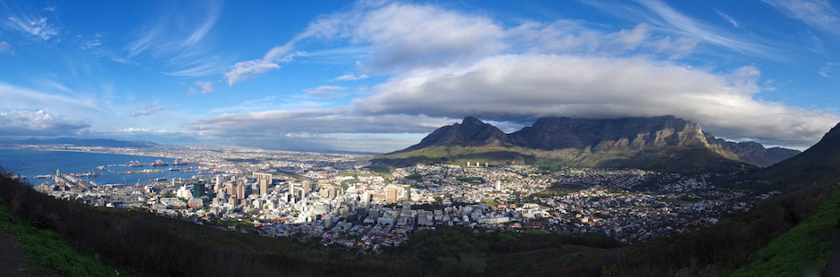 cape town, skyline, african urban metabolism, resource flows